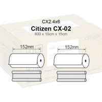 Citizen CX-02 Papel  Cx2.4x6