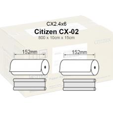 Citizen CX-02.4x6 Papel  10x15