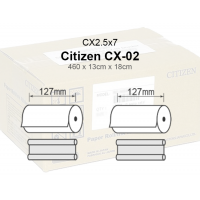 Citizen CX-02 Papel  Cx2.5x7