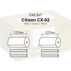 Citizen CX-02.5x7 Papel  13x18