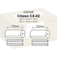 Citizen CX-02 Papel  Cx2.6x8