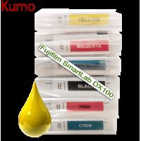 Tinteiro compatível com Fujifilm SmartLab DX100 Amarelo 200ml