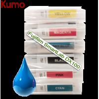 Tinteiro compatível com Fujifilm SmartLab DX100  Azul 200ml