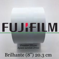Papel Fuji 20,3 Cm / 8 '' Brilhante (2 Bobines)