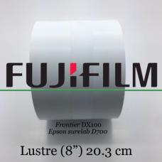 Papel Fuji 20,3 Cm / 8 '' Lustre (2 Bobines)