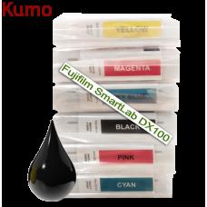 Tinteiro compatível com Fujifilm SmartLab DX100 Black 200ml