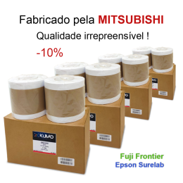 "Paper Lustre 15.2cm(6"")x65m 8 rolls"