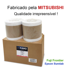 "Paper Lustre 15.2cm(6"")x65m 2 rolls"