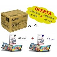 4 caixas Papel CK-D868 - Oferta 12 Mini Albuns