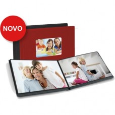 Easy Album (NEW) 15x20 cm cover with window - Red - 5.25 euros per unit