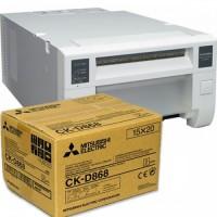 Mitsubishi CP-D80DW + Caixa de papel