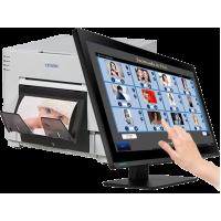PC myKIOSK 22 Pro + Citizen CY-02 + Caixa papel (1400 fotos) CY2.4X6