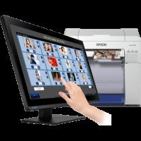 PC myKIOSK 22 Pro + Epson Surelab SL D800