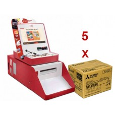 Mitsubishi Smart Kiosk full system *OFERTA 5 X cx de papel CK-D868